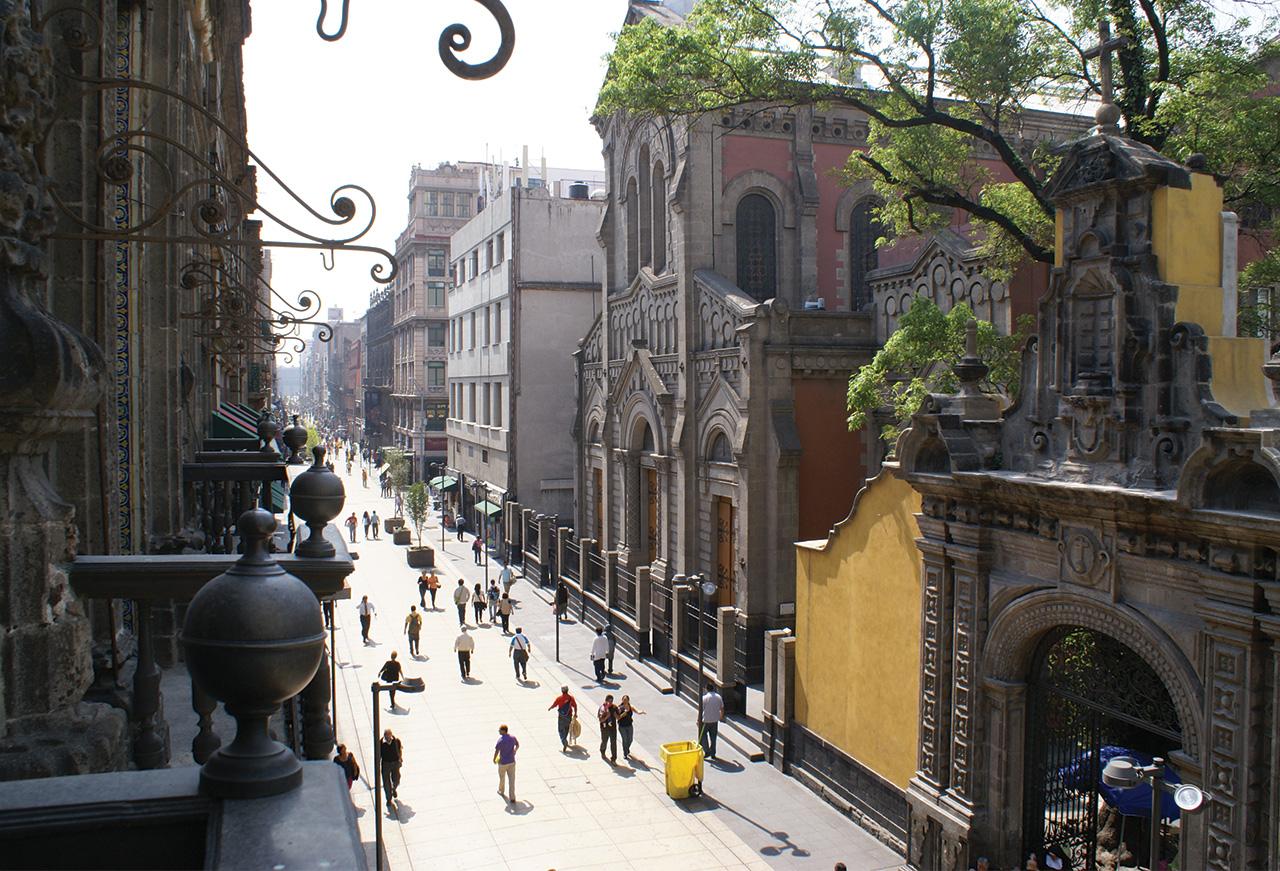 Recorrido urbano de calle Madero - PORTADA_CENTRO