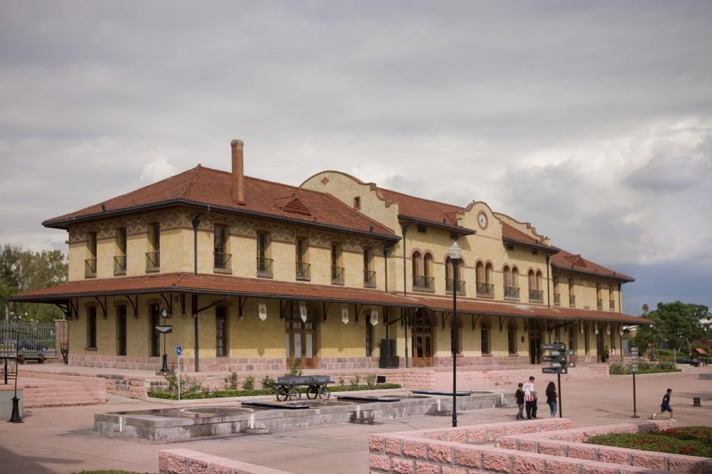Fachada del Museo Ferrocarrilero