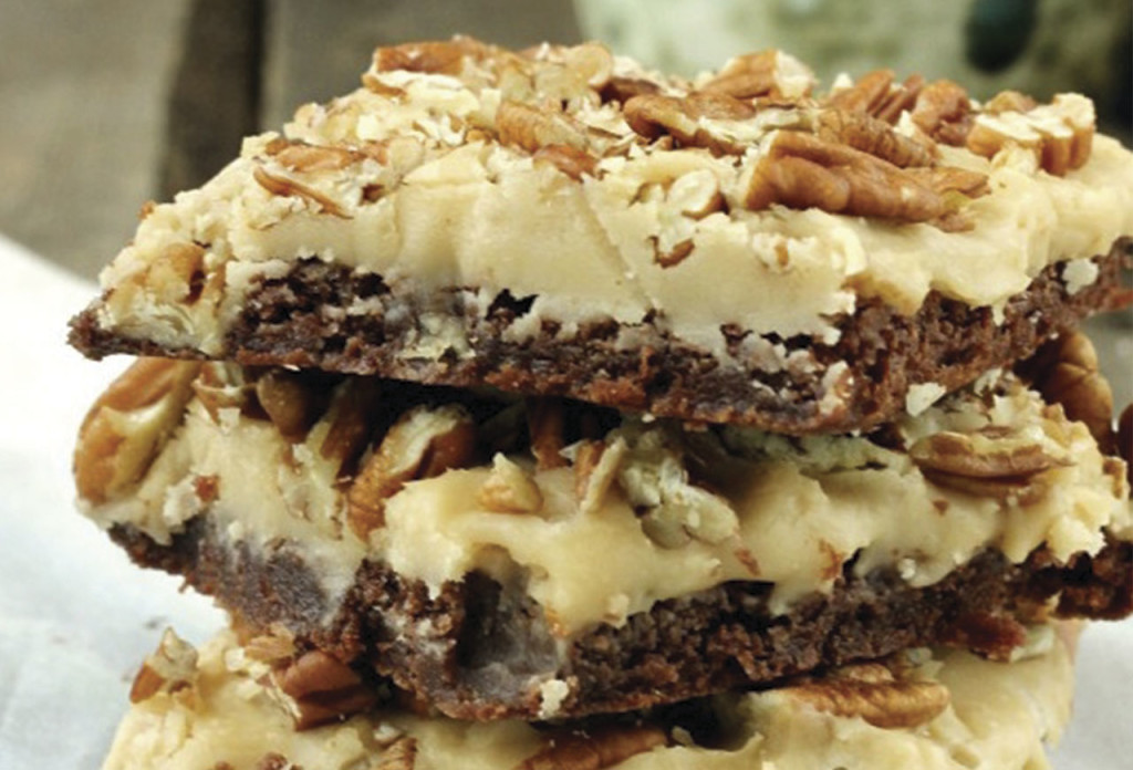 http://spicysouthernkitchen.com/praline-brownies/