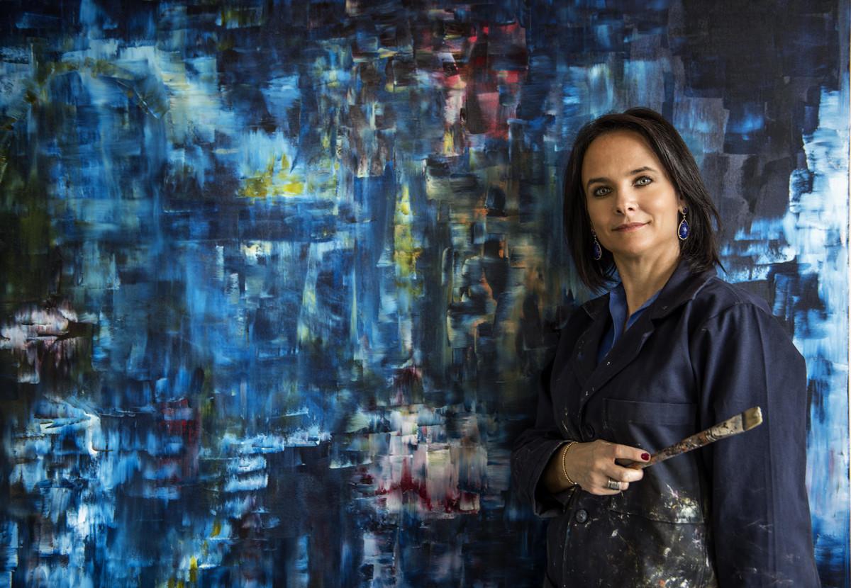 Fanny Karchmer: artista abstracta mexicana - Fanny