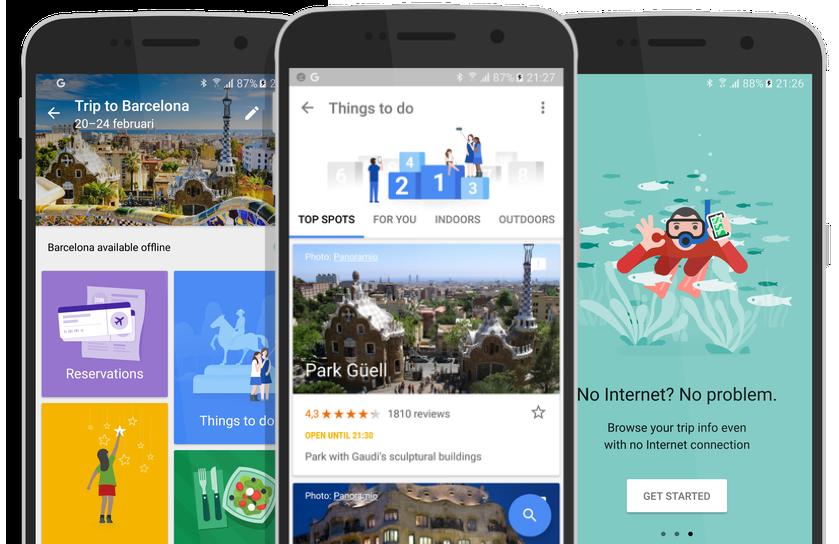 7 apps que facilitarán la planeación de tus viajes - Google Trips