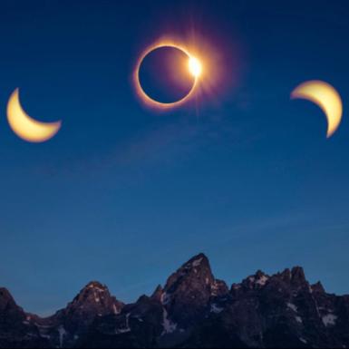 Las mejores fotos del eclipse solar 2017