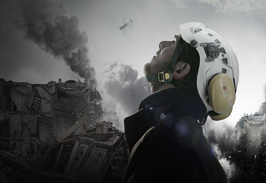Documentales en Netflix que no puedes dejar de ver - the white helmets- portada