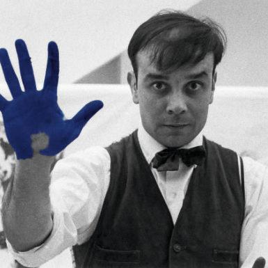 Yves Klein en el Museo Universitario Arte Contemporáneo MUAC