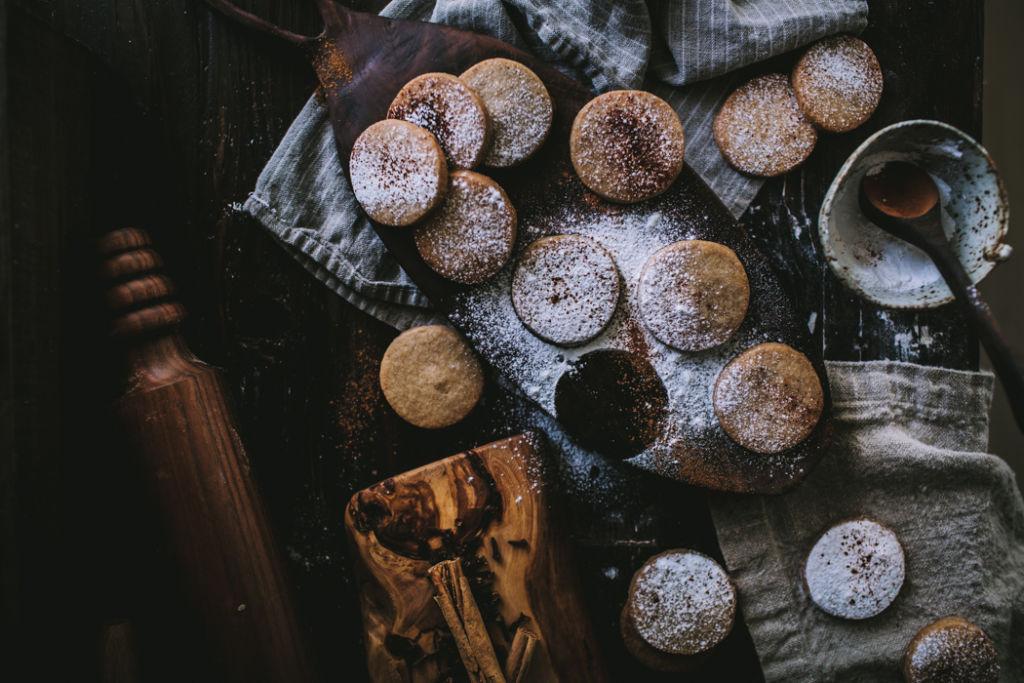 Los mejores postres para Thanksgiving - Postres Thanksgiving - Chai shortbread cookies portada