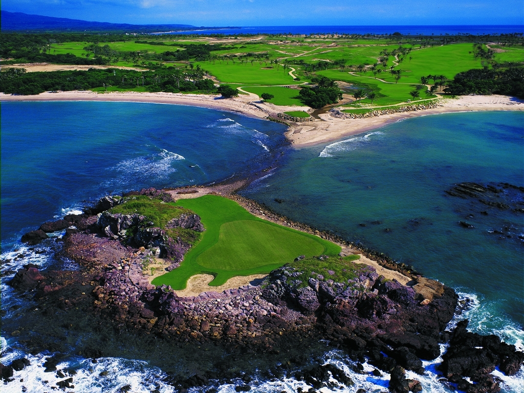 Campos de golf que vale la pena visitar en América - Pacifico Punta Mita Portada