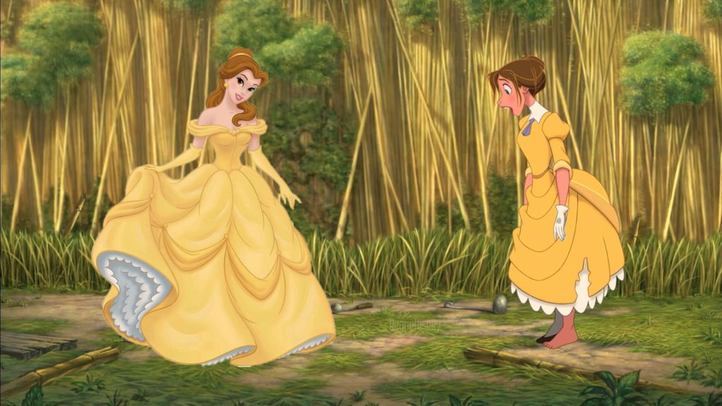 11 fun facts de las películas de Disney - 4. La Bella y Jane Disney