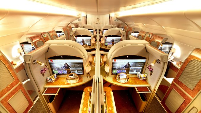 Las 6 aerolíneas más innovadoras - Emirates Portada