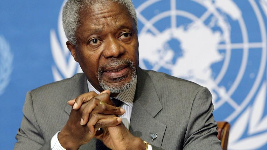 Fallece Kofi Annan, Nobel de la Paz y ex secretario general de las Naciones Unidas - Fallece Kofi Annan, Nobel de la Paz y ex Secretario General de las Naciones Unidas. ONU
