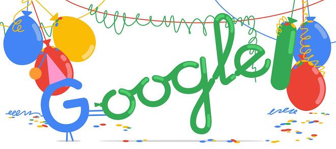 Google festeja su cumpleaños número 20 - google cumpleaños 20 portada