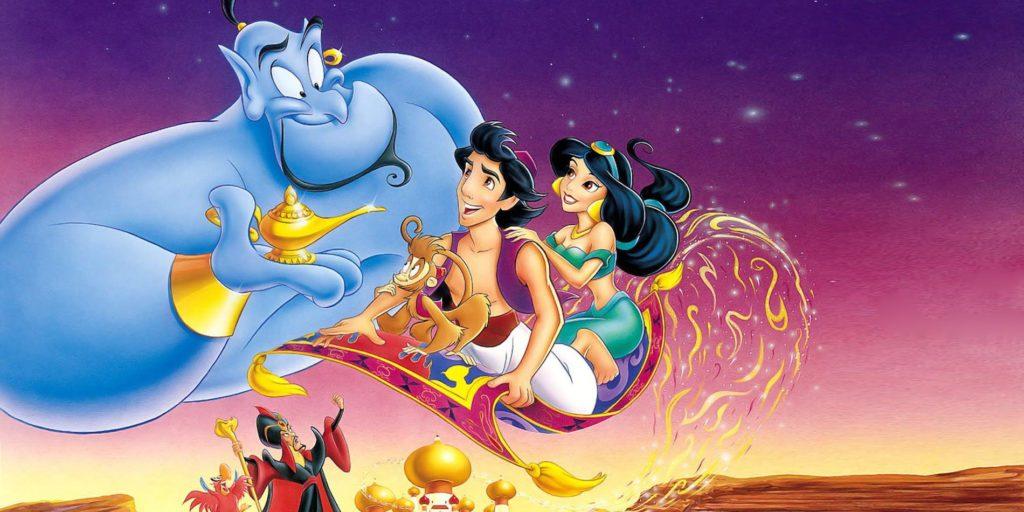 Se revela quién será el Genio en la adaptación de la película de Aladdin - aladdin portada