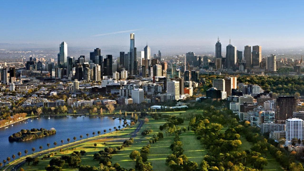 Guía para visitar Melbourne - Guía de Melbourne - vista panorámica de la ciudad PORTADA