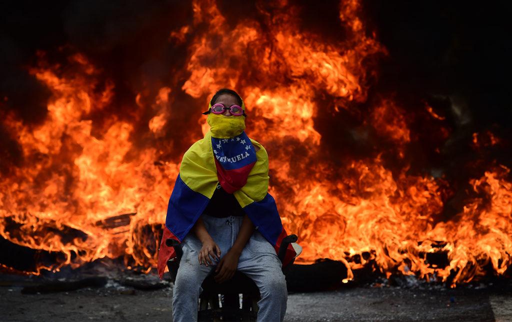 Ronaldo Schemidt, ganador del primer premio al paisaje infernal - worldpress foto fuego incendio niño