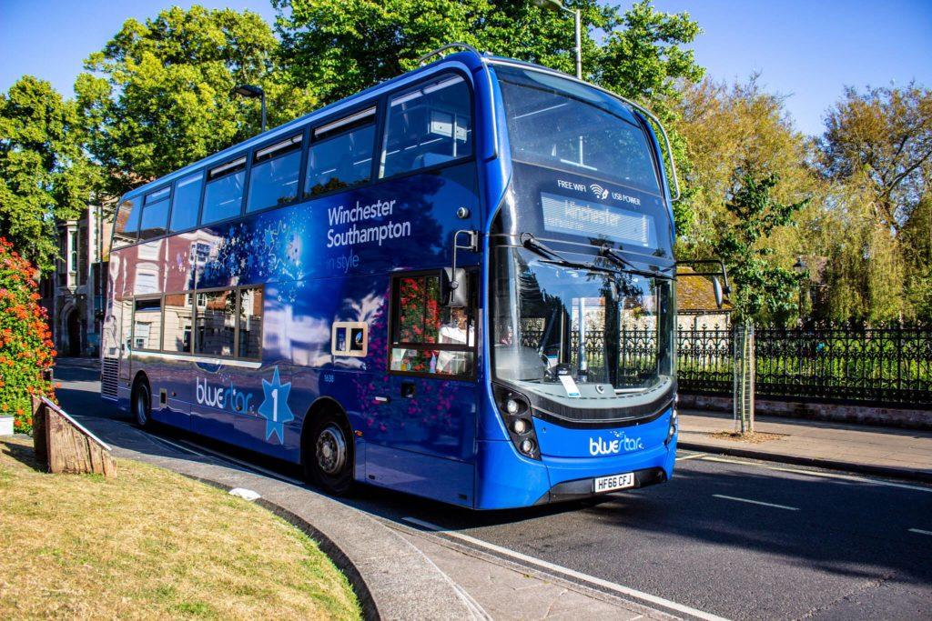 Bluestar, el autobús que limpia el aire mientras circula - bluestar autobús portada