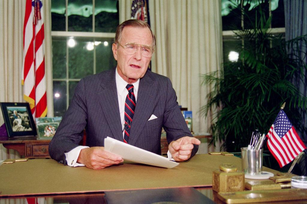 8 datos que probablemente no sabías sobre George H. W. Bush - 8 datos que probablemente no sabías sobre George H. W. Bush portada