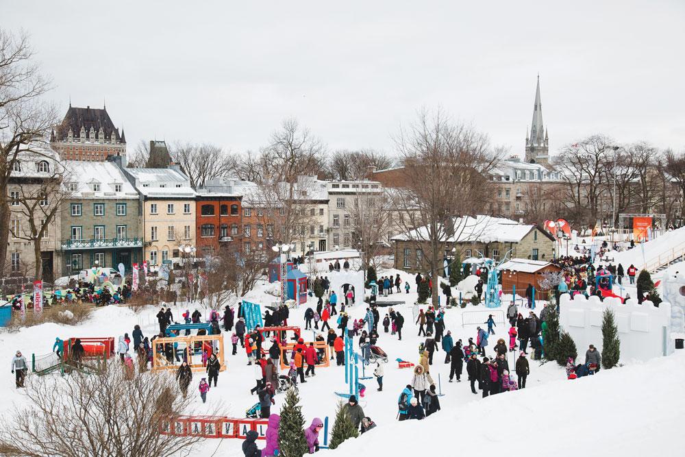 Festivales de nieve en el mundo - Carnaval de Québec Canadá y PORTADA