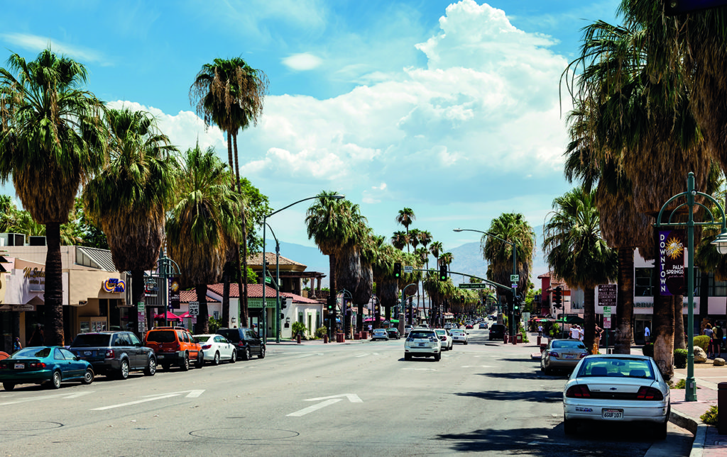 48 horas en Palm Springs - PALM SPRINGS-MAIN STREET