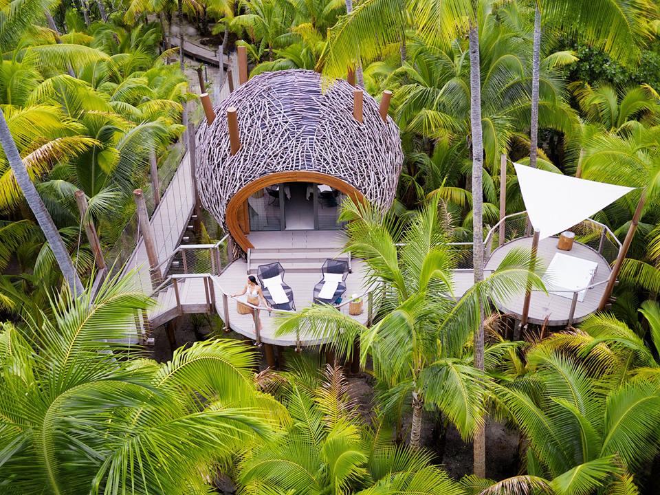 Hoteles ecológicos en el mundo que debes conocer - PORTADA The Brando en la isla privada de Tetiaroa, Polinesia Francesa