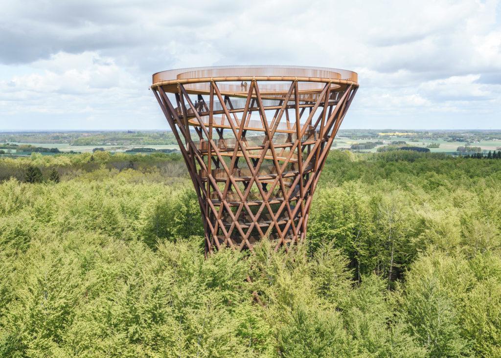 El nuevo deck de observación en Dinamarca que impacta por su arquitectura - Deck de observación Dinamarca portada