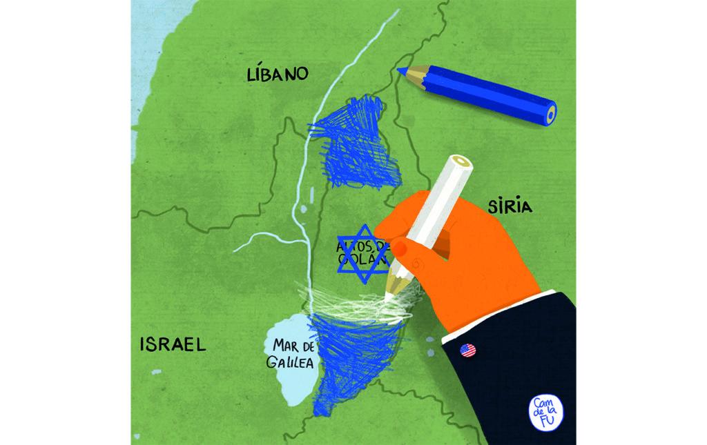 Problemas en las alturas: Altos del Golán - WORLD NEWS HBN038