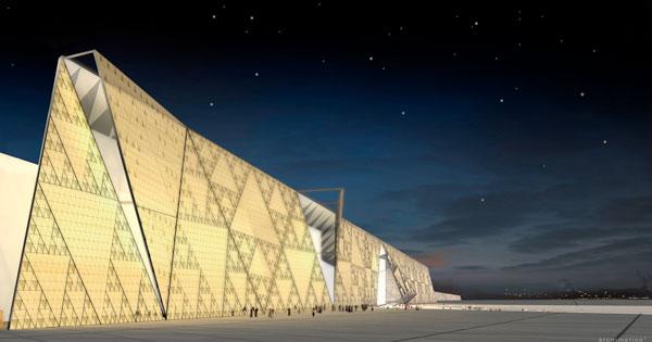 El museo arqueológico más impactante del mundo abrirá sus puertas en 2020 en Egipto - gran museo egipcio portada