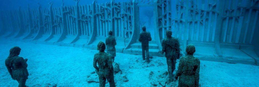 Los museos subacuáticos más cool del mundo - MuseosSubacuáticos_PORTADA_PlayaBlancaEspaña