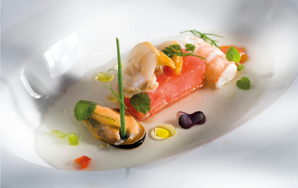 The Gourmet Masters: golf y gastronomía en su máxima expresión - PORTADA_hotbook_hbnews_gourmet_millesime_AGUA DE GAZPACHO