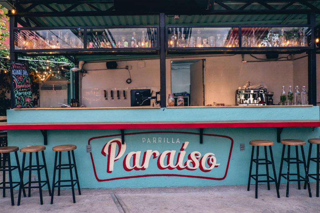 Parrilla Paraíso: un jardín escondido en el sur de la ciudad - parilla paraíso portada