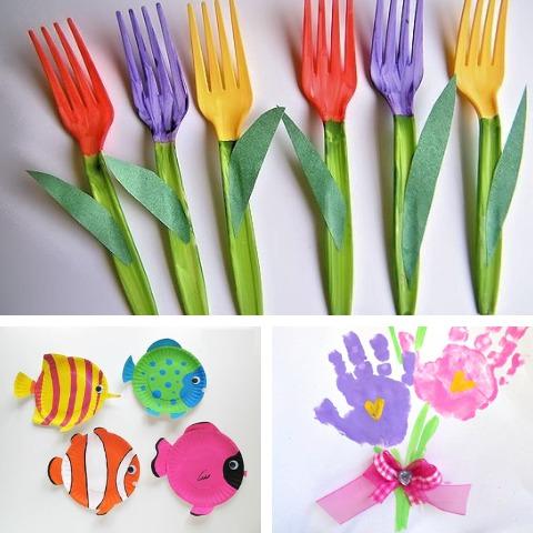 7 divertidas manualidades que puedes hacer en casa para festejar el Día del Niño - 7 divertidas manualidades que puedes hacer en casa para festejar el día del niño_PORTADA