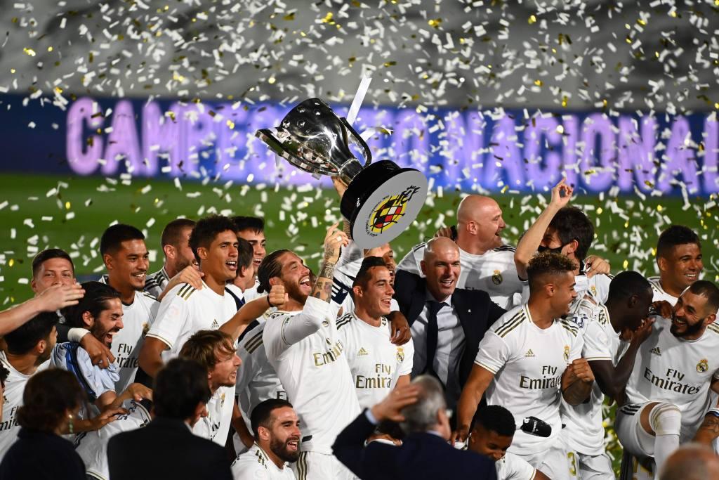 El Real Madrid C.F. se corona por trigésima cuarta vez como campeón de LaLiga de España - El Real Madrid C.F. se corona por trigésima cuarta vez como campeón de LaLiga de España  portada