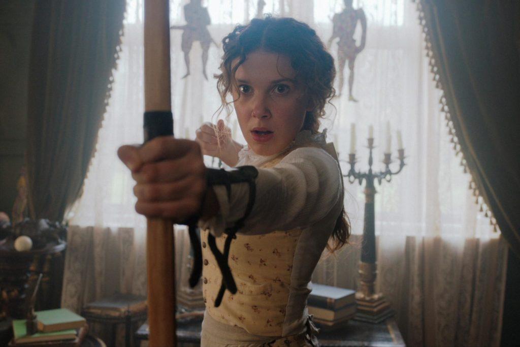 Netflix presenta las primeras imágenes de Enola Holmes, la hermana pequeña de Sherlock Holmes - Netflix presenta las primeras imágenes de Enola Holmes, la pequeña hermana de Sherlock Holmes. portada