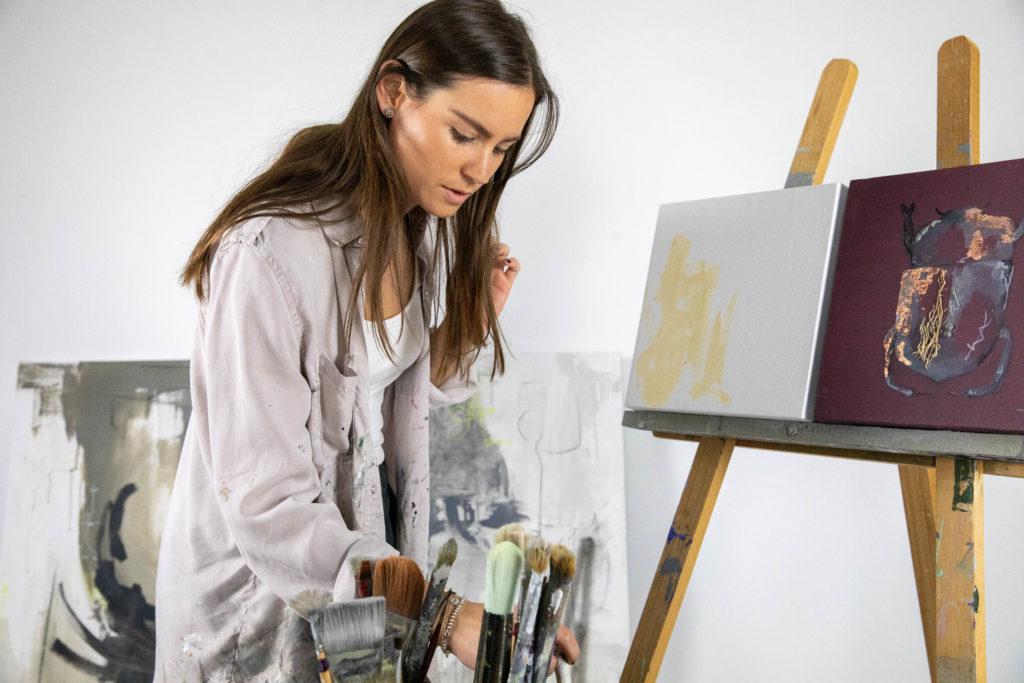 Paola Amodio: la destacada pintora mexicana - Portada Paola Amodio