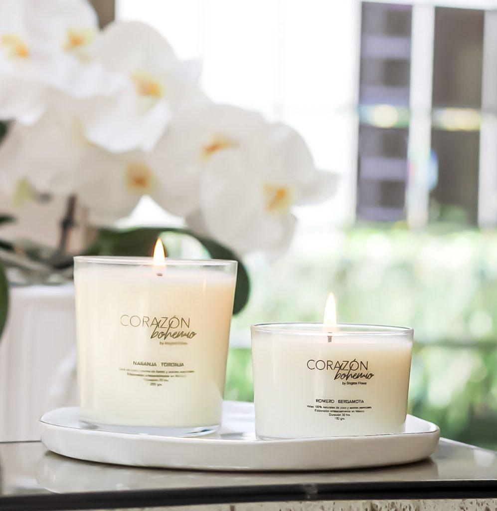 Conoce Corazón Bohemio, velas decorativas 100% naturales - Conoce Corazón Bohemio. Velas decorativas 100% naturales  PORTADA