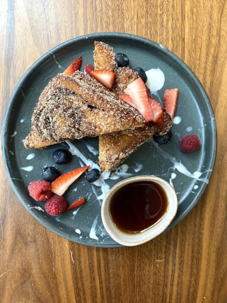 El paso a paso del platillo imperdible de Shuf: babka french toast - PORTADA
