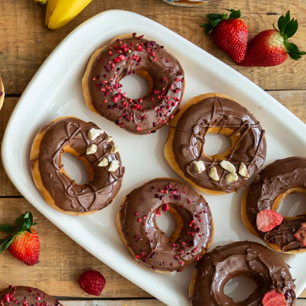 ¡Regresa Nutella manía! La aclamada colaboración entre Nutella y Krispy Kreme - FOTO 1